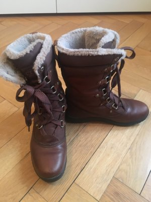 Braune Timberland Boots Mount Hope in Gr. 41,5