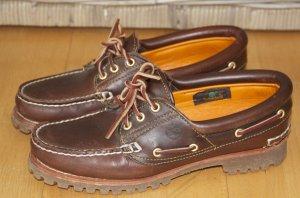 Braune Timberland Heritage Schuhe