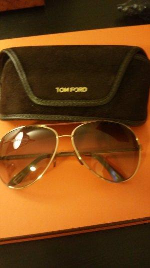 Braune Tom Ford Sonnenbrille