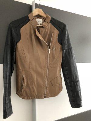 Koton Chaqueta de motociclista marrón claro