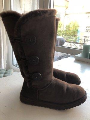 Braune UGG boots - fast wie neu