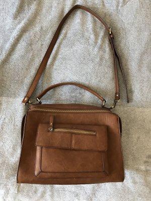 Braune Umhängetasche, City Bag, Accessorize