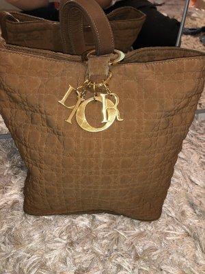 Christian Dior Borsellino marrone-oro