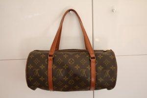 braune Vintage LOUIS VUITTON Papillon Tasche