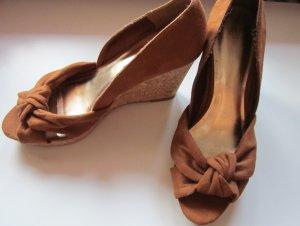 braune Wedges H&M Gr. 39