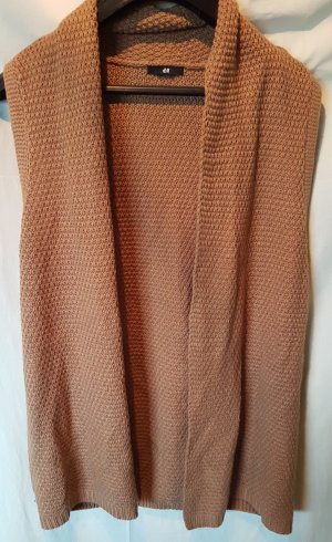 H&M Long Knitted Vest multicolored