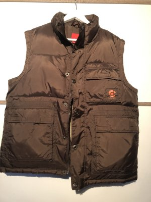 s.Oliver Quilted Gilet brown