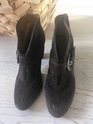 Braune Wildleder Ankle Boots von Geox