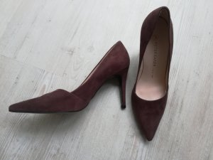 Braune Wildleder High Heels