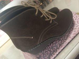 Braune Wildleder Stiefeletten von Graceland