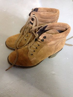 Low boot multicolore daim