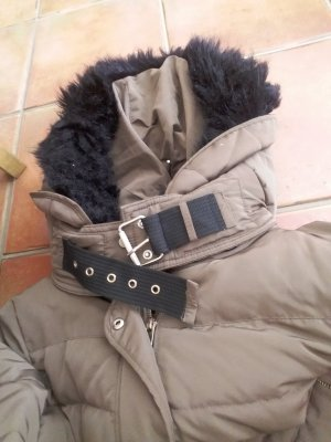 Braune Zara Winterjacke