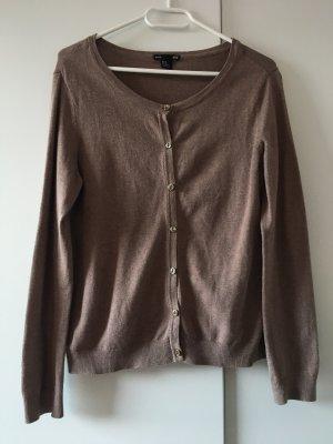 H&M Cardigan grey brown
