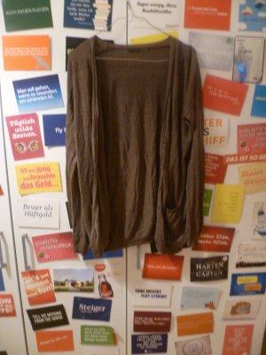 Atmosphere Cardigan in maglia marrone-marrone-grigio