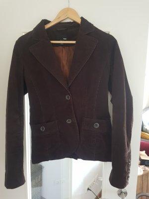 H&M Divided Unisex Blazer dark brown