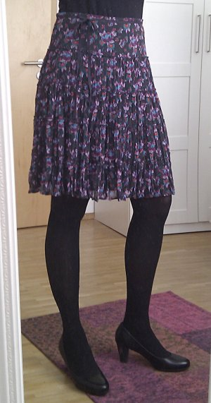 Esprit Broomstick Skirt multicolored polyester