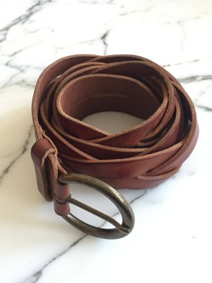 H&M Braided Belt multicolored leather
