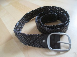 Orsay Braided Belt dark brown