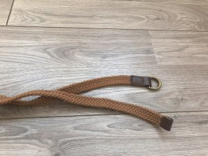 Fabric Belt bronze-colored