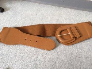brauner Gürtel mit Stretchanteil - Länge = 73cm