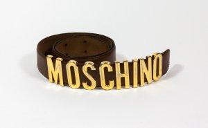 Brauner Gürtel von Moschino