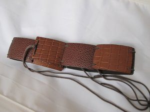 3 Suisses Braided Belt brown no material specification existing