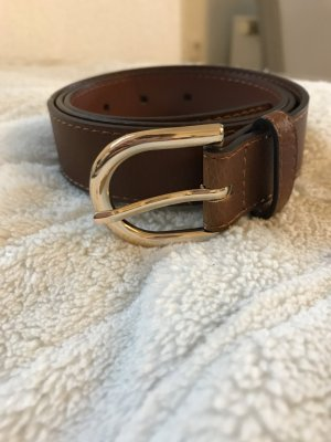 H&M Belt gold-colored-brown