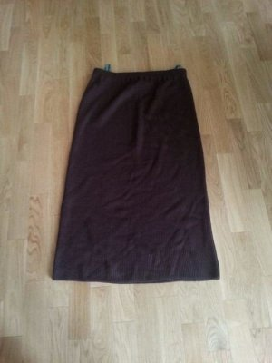 online store c78d6 5b6af C&A Midi Skirt dark brown
