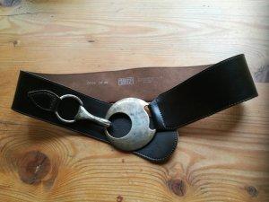 Bernd Götz Cinturón de cadera marrón oscuro Cuero