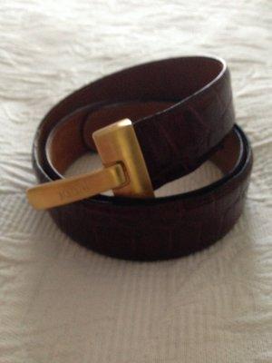 Joop! Cinturón de cuero marrón