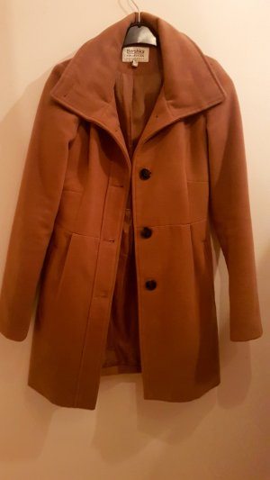 Bershka Short Coat light brown