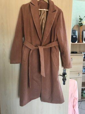 Brauner Mantel in Größe L