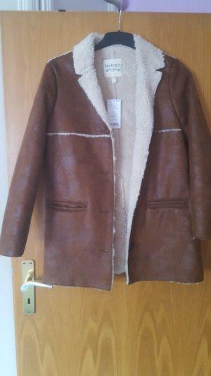 Brauner Mantel von Mango