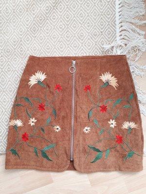 Boohoo Minifalda marrón