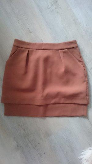 brauner Minirock von H&M