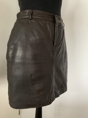 Marc O'Polo Leather Skirt multicolored