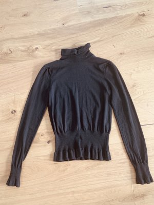 Bogner Turtleneck Sweater dark brown cashmere