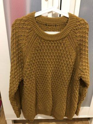 Brauner Pullover/Kleid