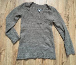 Mango Sweater light brown-grey brown
