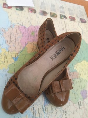 Loafers brown-black
