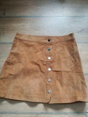 Pimkie High Waist Skirt brown