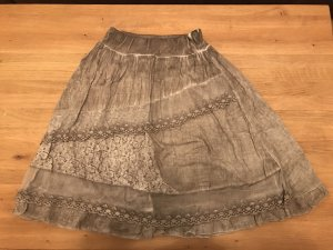 Broomstick Skirt light brown
