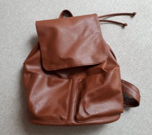 Even & Odd Backpack brown-cognac-coloured