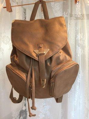 Atmosphere School Backpack brown