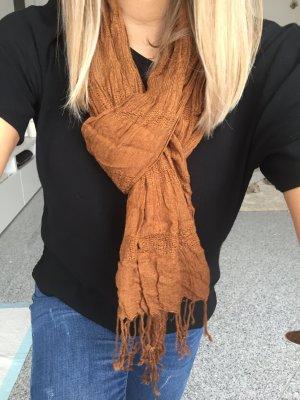 Brauner Schal vom h&m