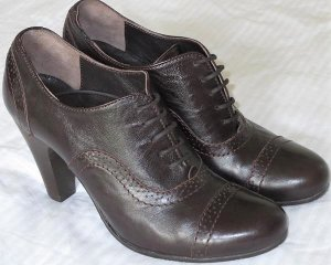 Alberto Fermani Lace Shoes dark brown leather