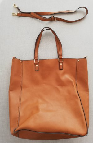 JustFab Shopper brown-cognac-coloured