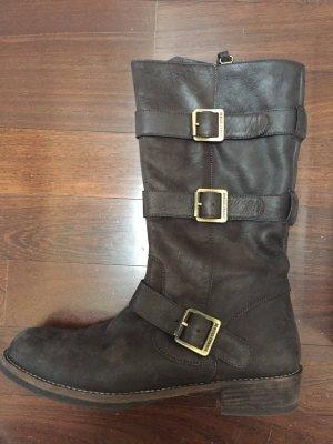 Brauner Stiefel von BOSS ORANGE Gr. 39
