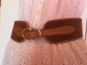 H&M Cintura vita marrone-oro