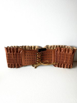Waist Belt light brown-cognac-coloured